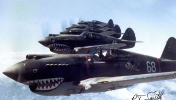 Dec. 20, 1941, the AVG, Flying Tigers Flies in Combat For the First Time