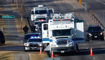 One deputy killed, four injured in shootout with suspect near Denver