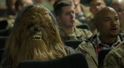Deployed Troops in Afghanistan Get First Look at New Star Wars Film