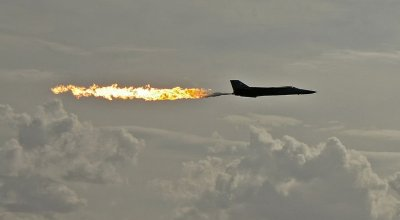 Watch: Ever see a fighter jet light up a city? The amazing F-111 Aardvark!