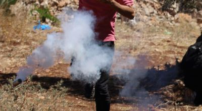 This Palestinian camp is the community most exposed to tear gas in the world