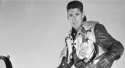 Hall of Famer Ted Williams described crash-landing his jet during the Korean War in letters to his mistress