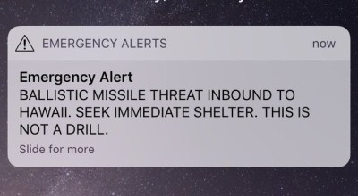 Hawaiian nuclear alert: What if it was real?