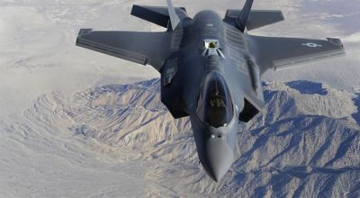 Watch: F-35's Put on a Show in Death Valley