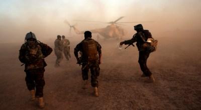 U.S. Turns Military Focus to Afghanistan as ISIS Battles Ebb