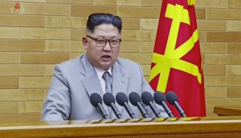 Sanctions at work? Kim Jong Un threatens US, but offers rare overture to South Korea