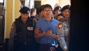 Reuters journalists in Burma charged under Official Secrets Act