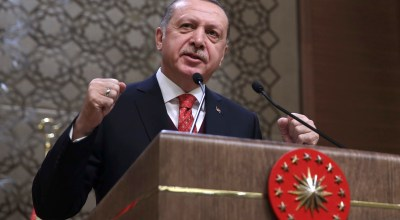 Erdogan vows to strangle US 'terror army' in Syria and invade Kurdish enclave