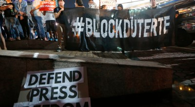 Filipino government threatens to shut down news group critical to Duterte