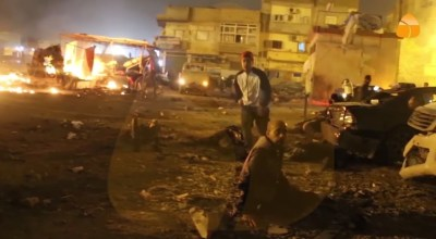At least 33 killed in car bombing in Benghazi, Libya