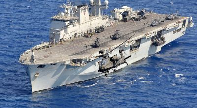 Brazil is reportedly buying the Royal Navy's only helicopter carrier on the cheap