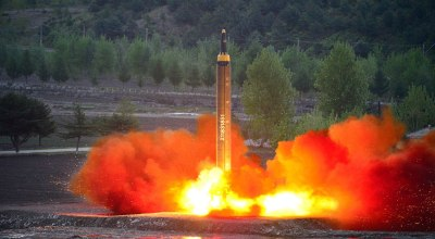 North Korean test failure sent ballistic missile spiraling into nearby city