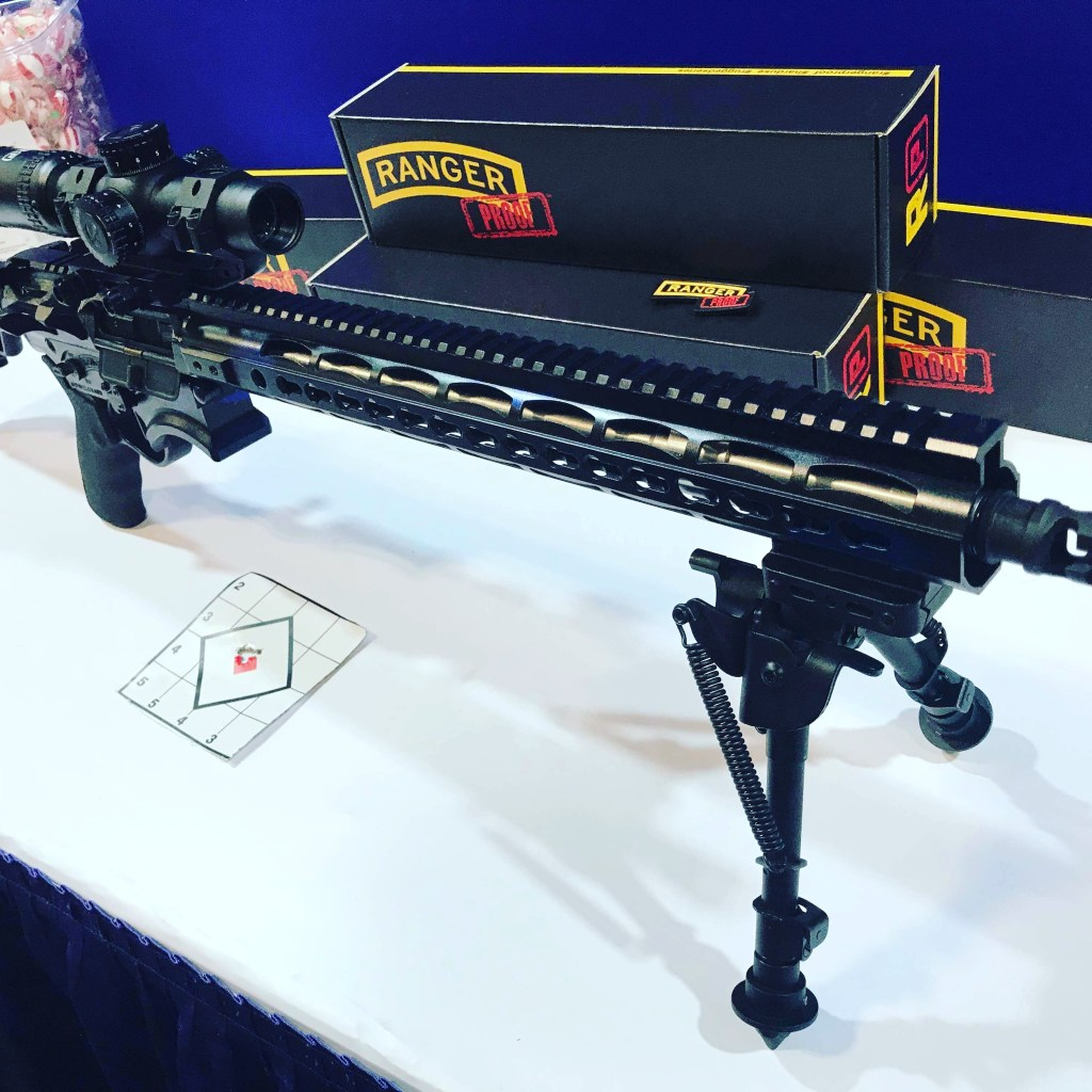 shot show 2018 ranger proof arms