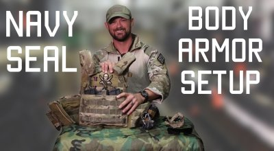 Watch: How a Navy SEAL sets up his body armor
