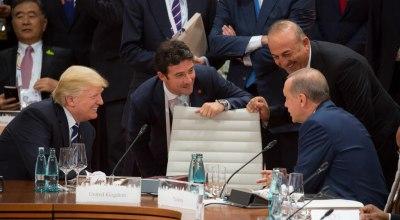 Trump tells Erdogan to curb Turkey's Afrin offensive in Syria
