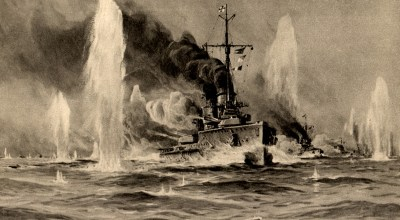 On this day in history: German and British Navies duke it out east of England