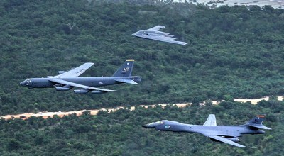 U.S. swaps out conventional bombers for nuclear ones near North Korea