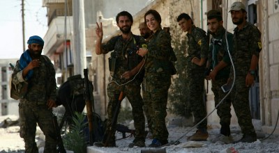Assad regime forces enter Afrin to aid Kurdish SDF