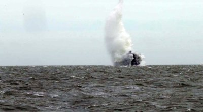 Watch: Royal Navy detonates 500 pound WWII bomb found at London City Airport