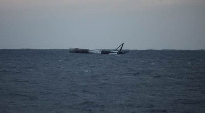 Sources claim US Air Force called in to scuttle SpaceX rocket booster afloat in Atlantic