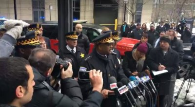 Chicago police commander shot and killed after attempting to question suspect