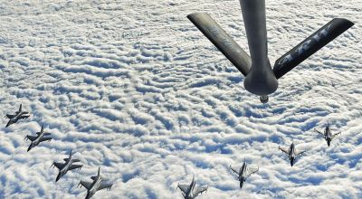 Picture of the Day: F-16C Fighting Falcons and Swedish Air Force JAS 39 Gripens