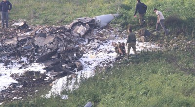 Israeli Defense Forces F-16 Brought Down by Syrian Fire – Aircrew Ejects