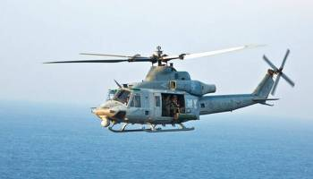 Helicopter Rotor Blade Hits US Navy Sailor at Camp Pendleton