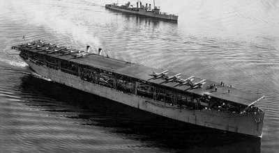 On this day in history: US Navy's first aircraft carrier is scuttled in WWII
