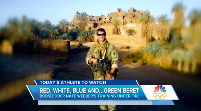 Watch: Nate Weber, the Green Beret in the 2018 Winter Olympics
