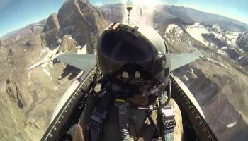 Watch: What is it like to be an F-16 Fighter Pilot in Afghanistan? Find Out!