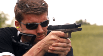 Testing the automatic Glock 18 for the CIA