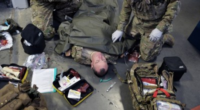 Loadout Room photo of the day: New York Air National Guard pararescue jumpers hone emergency medical skills
