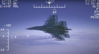 Russia responds to accusations of an unsafe intercept over the Black Sea by insulting American pilots