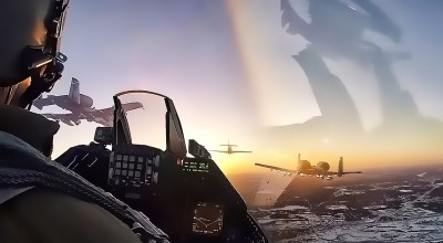 Watch: F-16 Cockpit View of Heritage Flight Super Bowl LII Flyover (2018)