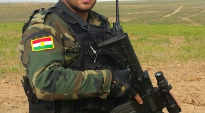 Coalition forces support establishing a modern Peshmerga