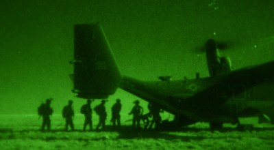 SOF Pic of the Day: Special Operations Soldiers exfiltrate via CV-22 Osprey