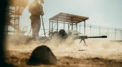 SOF Pic of the Day: A sniper and his .50 cal