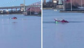Helicopter goes down in NYC's East River: 5 dead, pilot survives