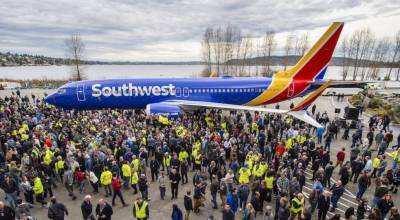 Boeing Sets Worlds Record with Roll Out of the 10,000th 737 Aircraft!