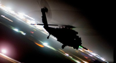 Picture of the Day: Air Force HH-60G Pave Hawk on a Training Mission During Resolute Support