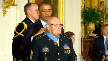 March 9-12, 1966, CSM Bennie Adkins Awarded Medal of Honor