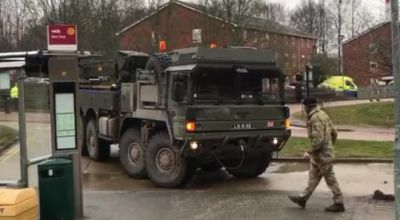 British Deploy Military to Salisbury After Nerve Gas Poison Attack