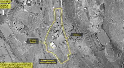 Satellite Images Show Iran Building Military Base in Syria