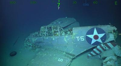 Watch: USS Lexington Found 76 Years after WWII Sinking