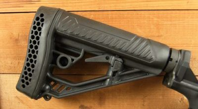 Adaptive Tactical Stock, because Shooting Doesn't Have to Hurt