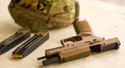 Army's troubled military variant of the Sig Sauer P320 will soon be sold to all branches