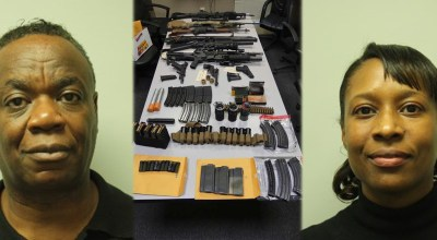 Weapons cache discovered in MA hotel room, couple arrested