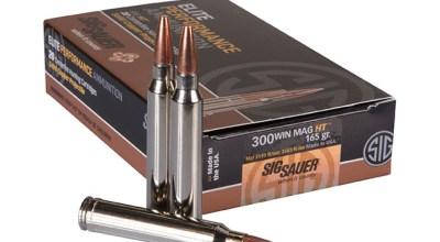 SIG SAUER Introduces 300 Win Mag SIG HT Hunting Ammunition