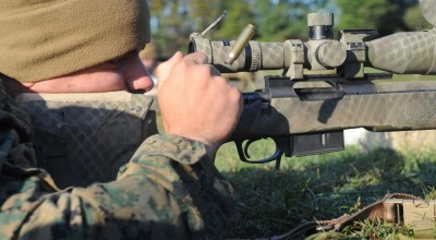 Marine Snipers Developing the skill for one shot, one kill